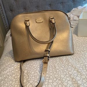 Michael Kors gold bag
